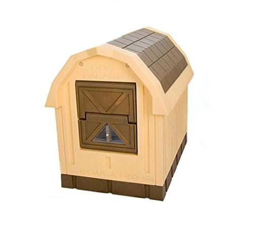 Dog Palace Large Dog House by ASL Solutions (Dog Heaters For Dog House)