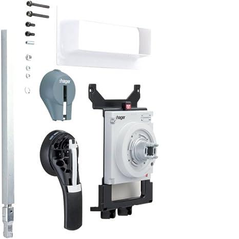 Hager h630 - Mando rotativo embrague para interruptor h630: Amazon.es: Bricolaje y herramientas