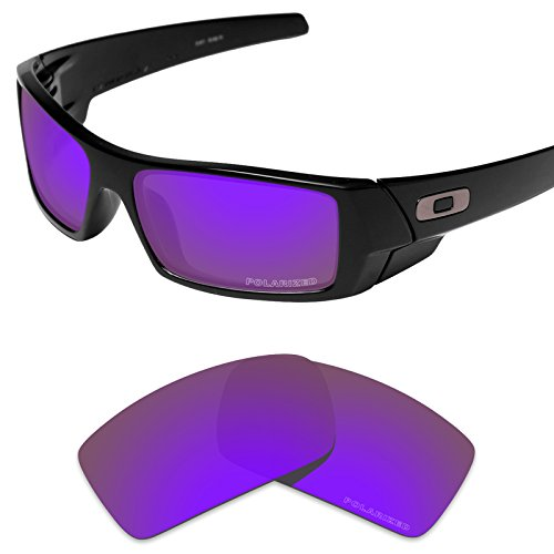 Tintart Performance Replacement Lenses for Oakley Gascan Sunglass Polarized - Sunglasses Lens Violet