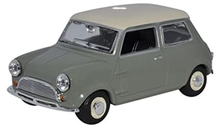 Amazon Com Oxford Diecast Min021 Mini Car Tweed Grey Oew By Oxford
