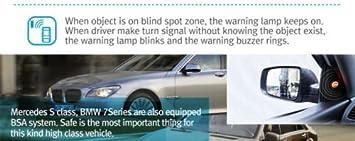 Toyota 4Runner Universal Blind Spot Monitor Safety Warning Sensor Detection Kit