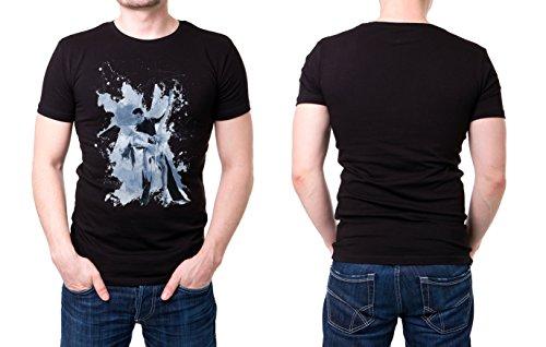 Tanzpaar_III schwarzes modernes Herren T-Shirt mit stylischen Aufdruck