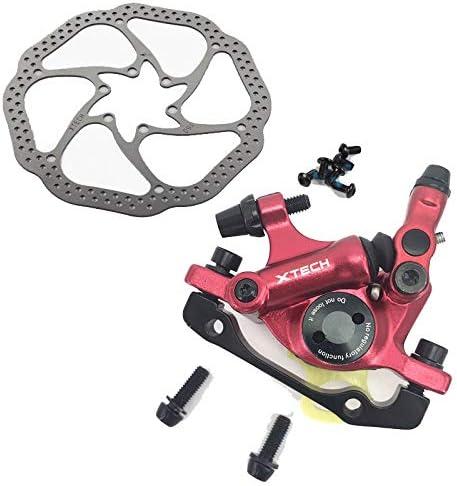 HinGu-Disc brake Zoom HB-100 MTB Freno de Bicicleta HB100 Frenos de Bicicleta Pinza W Rotores Piezas de Bicicleta Pistón hidráulico Palanca de Freno en V bidireccional W