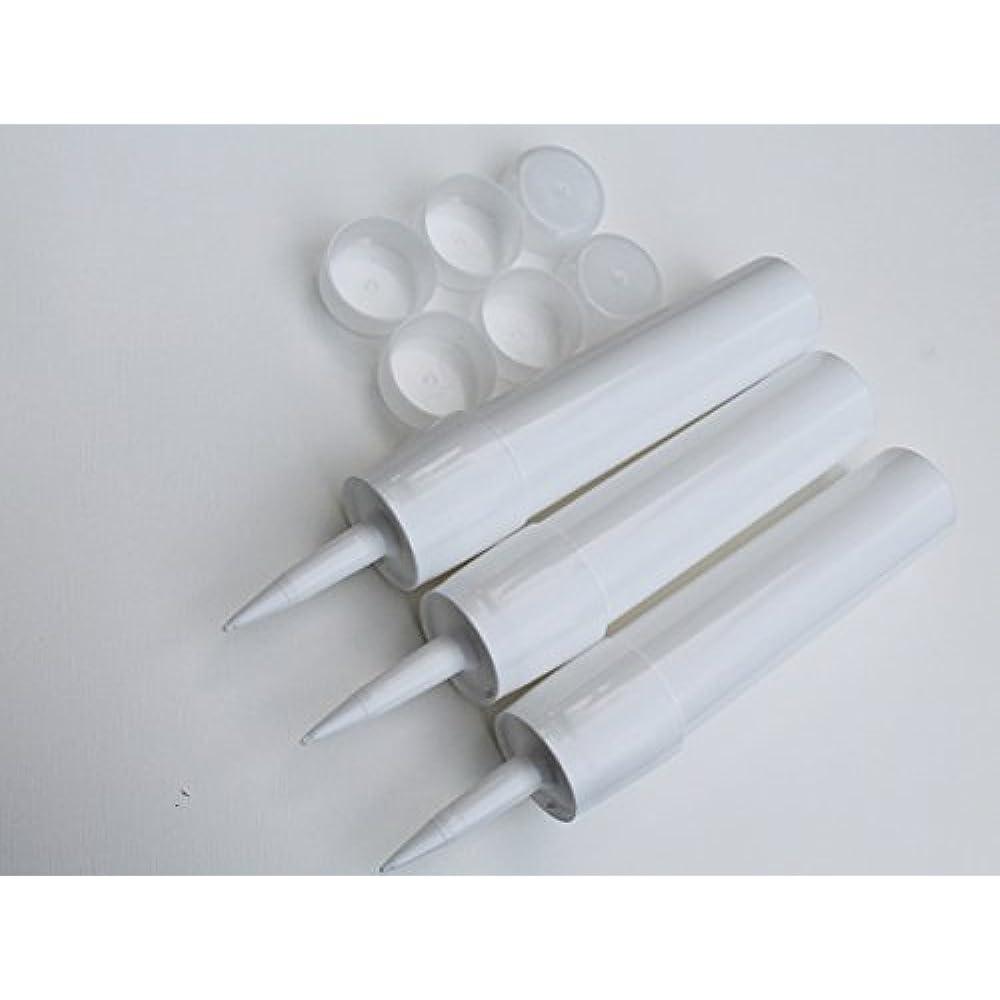 Made in USA 3 Reusable Empty Caulk Tube Cartridge