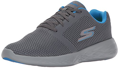 Skechers Performance Men's Go Run 600 Running Shoe,Charcoal/Blue,13 M US