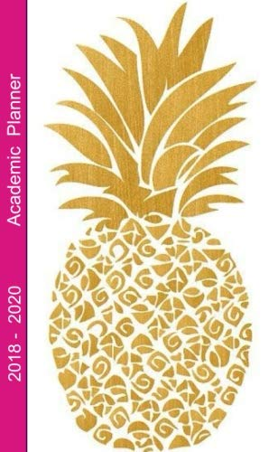 Download Academic Planner 2018 - 2020: 2 - Year Pocket Monthly Planner : 24-Month Calendar (August 2018 - July 2020), Notes and Phone book, U.S. Holidays, Size ... Hand Lettering Notebook ( Golden Pineapple ) pdf epub