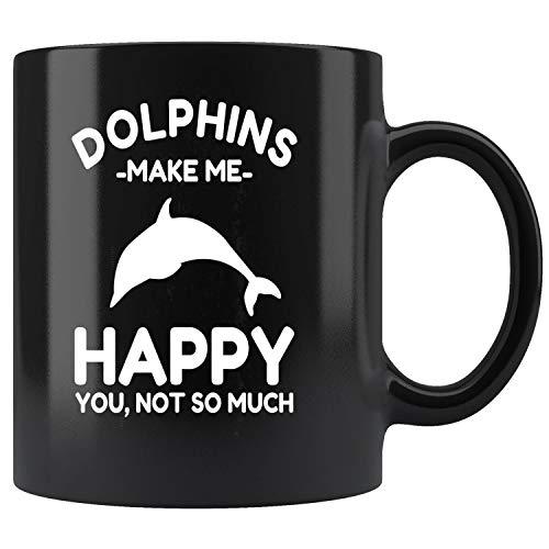 Dolphin Mug - Dolphin - Funny Dolphin Lover Mug Coffee Mug 11oz Gift Tea Cups 15oz