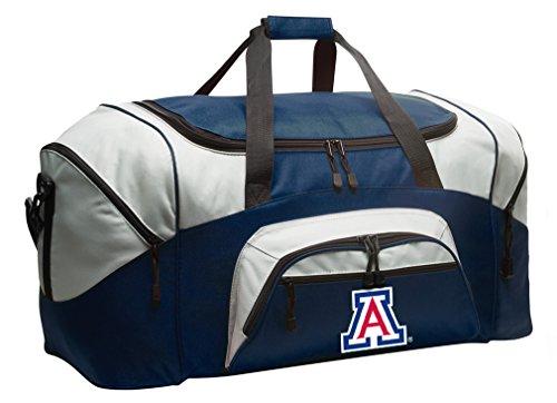University of Arizona Duffel Bag Large Arizona Wildcats Suitcase or Gym Bag for Men Ladies Him or Her! (Wildcats Gym Bag)