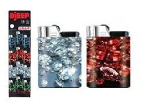 Djeep Jewels Gems Full Size Lighter 24 Per Card D Jeep gemstones jewels