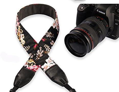 Neomark Universal Camera Shoulder Strap Belt Flora Vintage Style