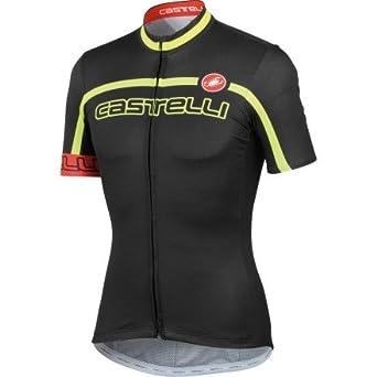Castelli Velocissimo Team Cycling Jersey Gentlemen yellow black (Size  XL)  Cycling Jersey f21989e63