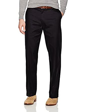 Lee Mens 42831 Total Freedom Stretch Relaxed Fit Flat Front Pant Casual Pants - Black - 29W x 30L