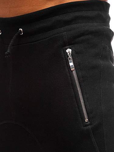 Homme 6f6 Bolf Sport Pantalons Jogging De Training s 43s Noir – Fitness Motif wB8xz