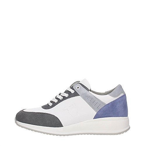 Trussardi Jeans 79S563 Sneakers Mujer WHITE/GREY
