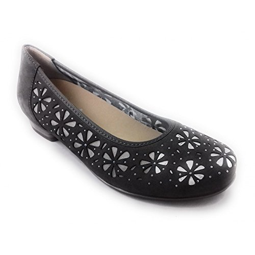 de Vestir Gris Gris Mujer Para ara Zapatos w45FqgEw7