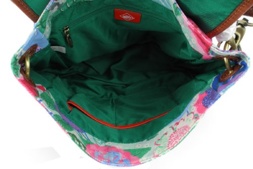 Oilily Floral World Shoulderbag Turquoise