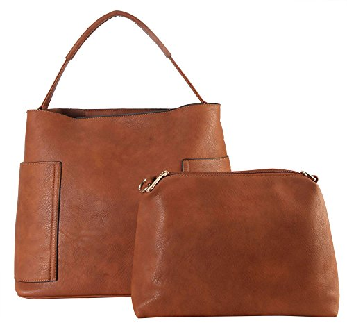 diophy-pu-leather-concise-design-large-hobo-2-picecs-set-womens-purse-handbag-sd-3622