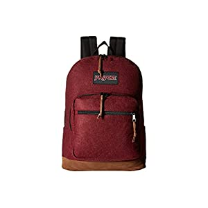 JanSport Unisex Right Pack Digital Maroon Red Felt Backpack