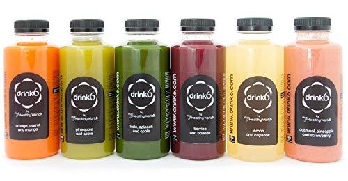 Plan detox zumos - 5 días - DRINK6: Amazon.es: Alimentación ...