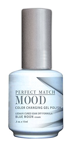 LECHAT Perfect Match Mood Gel Polish, Blue Moon, 0.500 Ounce