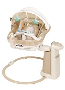 Amazon Com Graco Sweet Peace Soother Swing Cuddly Bear