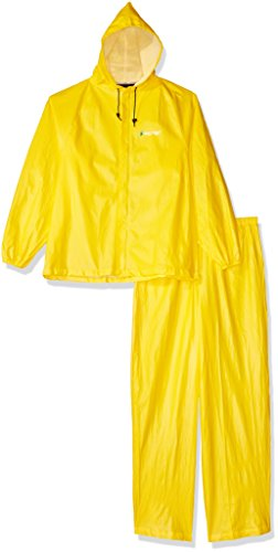 Frogg Toggs Ultra-Lite2 Waterproof Breathable Rain Suit, Men's, Bright Yellow, Size Large -