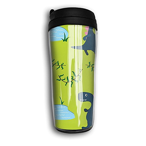 Hammerhead Pen Stylus (Tumbler Travel Mug Dino Kid Cute Food Grade ABS Mug Insulated Both Cold & Hot Drink Car Mug For Travel Outdoor With Black Lid 12 Oz (350 Ml))