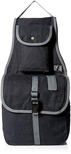 - Tahoe Tack Large Multi Pocket Canvas Horse Saddle Bag with Cell Phone Pocket (Black)