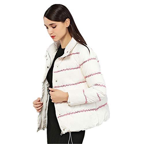 Doudoune Nouvelle h White Femme Parfumée Couture Simple Paragraphe Et Ruban Hiver Court Automne xoBedC