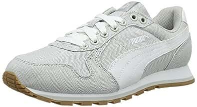 Puma St Runner Herringbone, Zapatillas Unisex Adulto, Gris (Gray Violet-Puma White 02), 41 EU