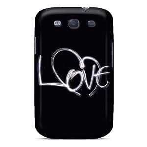 Samsung Galaxy S3 IOa15193sxDN Custom Stylish Iphone Wallpaper Skin Shock Absorption Cell-phone Hard Cover -AlissaDubois