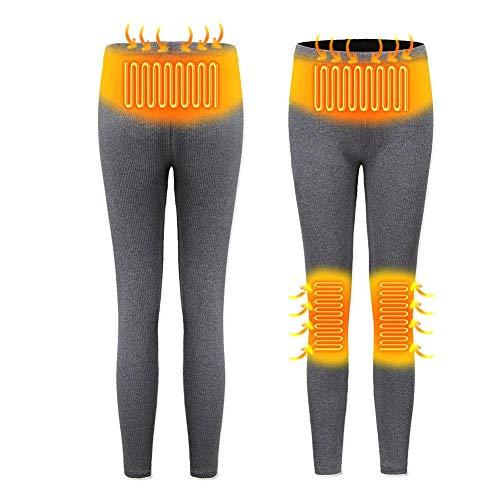 Esplic Heated Pants for Women, Washable USB Intelligent Thermostat Warm Trousers, 3-Gear Temperature Adjustment Winter…
