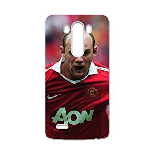 SANLSI Red Team Manchester United FC Red Devils Wayne White Phone Case for LG G3