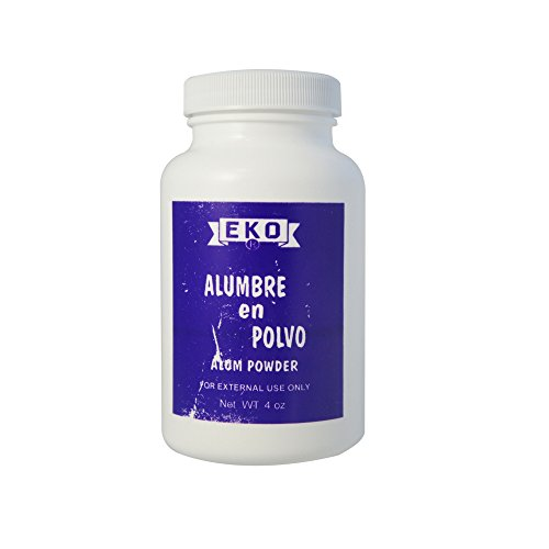 EKO Alumbre en Polvo Alum Powder 4 oz (Pack of 2)