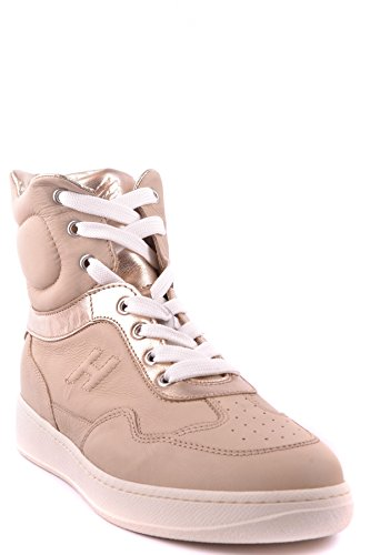 Hogan Hi Top Sneakers Donna MCBI148183O Pelle Beige