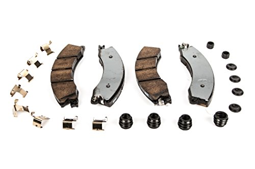 Price comparison product image ACDelco 171-1163 GM Original Equipment Front Disc Brake Pad Kit with Springs,  Boots,  Bushings,  and Seals