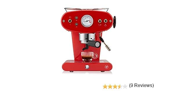 FrancisFrancis! 6141 X1 Trio, Máquina de Café, Color Rojo: Amazon.es: Hogar