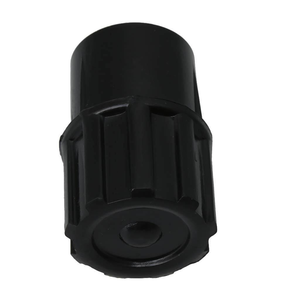 Yibuy Alto Sax End Plug Saxphone End Plug for Alto Saxophone Black Neck Plugs