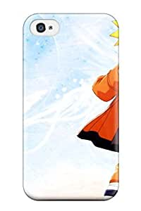 BTIaRak4805jwYtE Tpu Phone Case With Fashionable Look For Iphone 4/4s - Naruto Galery
