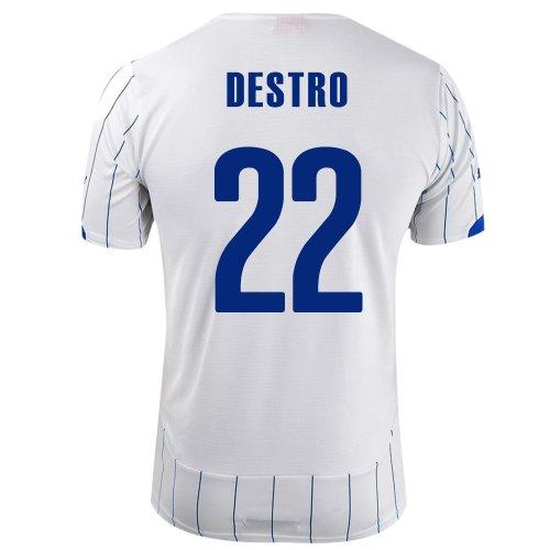 連続的顧問アジテーションPUMA DESTRO #22 ITALY AWAY JERSEY WORLD CUP 2014/サッカーユニフォーム イタリア代表 レプリカ?アウェイ用 ワールドカップ2014 背番号22