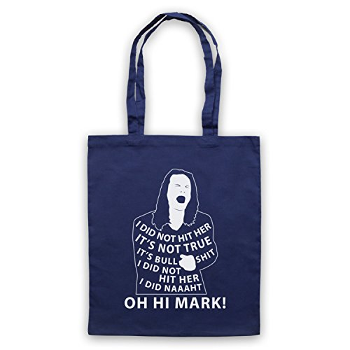 Navy Room Not Unofficial Tote Inspired Mark Bag The Hit Her Did I Disaster Artist blue by Oh Hi The 8Zq6ZxTE