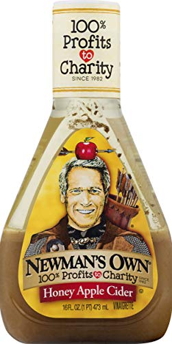 Newman's Own Honey Apple Cider Salad Dressing, 16-oz. (Olive Oil And Apple Cider Vinegar Salad Dressing)