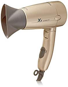 X5 Superlite 1600W Dual Voltage Ceramic-Ionic Travel Dryer