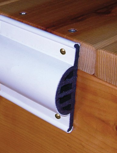 (Taylor Made Products 46013 Comm Dock Side Guard Coil Retail Pack, 10-Feet, White)