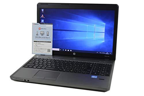 ノートパソコン 【OFFICE搭載】 HP ProBook 4540s 第3世代 Core i3 3110M HD 15.6インチ 8GB/320GB/DVDマルチ/WiFi対応無線LAN/Bluetooth/テンキー付フルキーボード/Windows 10 B07GP36R7G