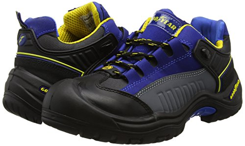 Goodyear Gyshu740 - Zapatos de seguridad, Unisex, color Negro, talla 43 EU