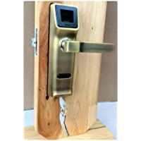 Lightinthebox 905a Biometric Fingerprint Door Lock with Key & Ic Sensor Open