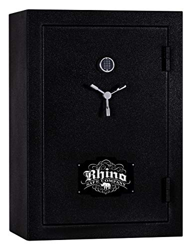 Rhino Safe Warthog RW6042XP Gun Safe, 54 Long Guns & 8 Hand Guns, 820 lbs, 80 Minute Fire Protection, UL Listed Lock, Swing Out Gun Rack Compatible, Bonus Deluxe Door Organizer and Made in The USA