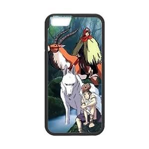 iphone6s 4.7 inch Phone Case Black Princess Mononoke WE1TY706556
