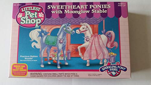 (Kenner Littlest Pet Shop - Sweetheart Ponies with Moonglow Stable)